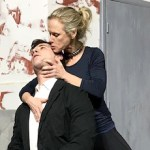 "Tristan Vaughan and Tina Jones in HTC's production of ""Venus in Fur,"" opening Jan. 11."