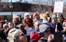 The Sag Harbor crowd topped 1,000 people.