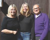 Alison Boyd, Kim Dyla and William Sertl