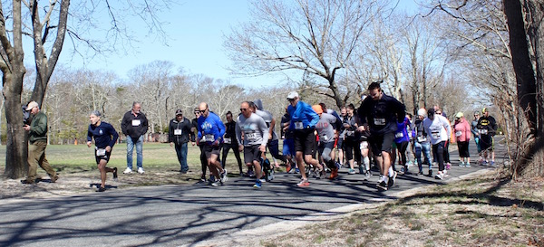 At the Starting Line of the North Fork Environmental Council's Third Annual Earth Day 5K