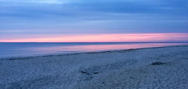 Bailie Beach sunset, Mattituck