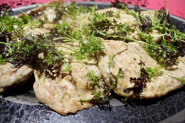 grilled lemon chicken paillard