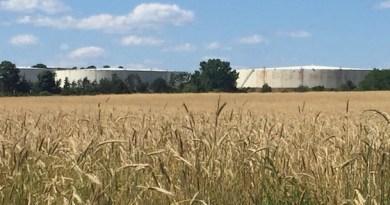 The United Riverhead Terminal's tank farm in Northville.