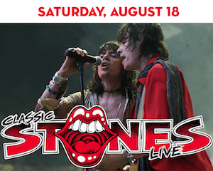 Classic Stones with the Glimmer Twins at The Suffolk Theater