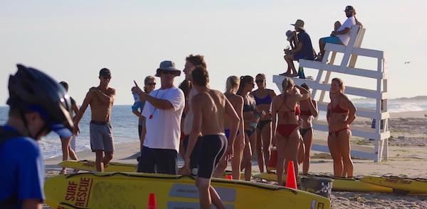 Thursday night at the lifeguard races, Hampton Bays