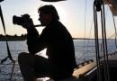 Thomas Halaczinsky on board Sojourn | photo courtesy Thomas Halaczinsky