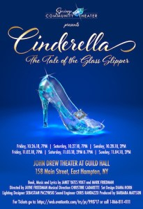 "Springs Community Theater Presents ""Cinderella"" at Guild Hall"