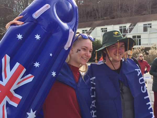 Team Australia (Skye Wilkins and Lachlan McCall)