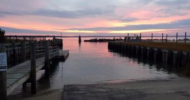 Boat Ramp Sunrise, New Suffolk