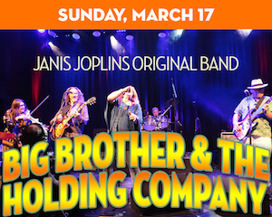 Big Brother & The Holding Company perform at The Suffolk Theater
