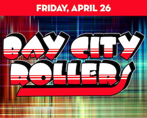 The Bay City Rollers perform at The Suffolk Theater