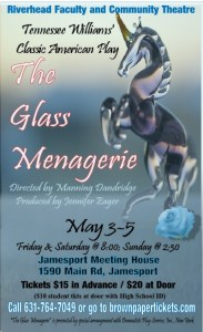 """RFCT presents """"The Glass Menagerie"""" at Jamesport Meeting House"""