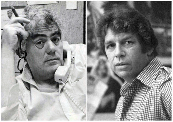 Jimmy Breslin and Pete Hamill