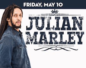 Julian Marley performs at The Suffolk Theater
