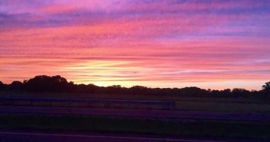 Friday, Sunset.