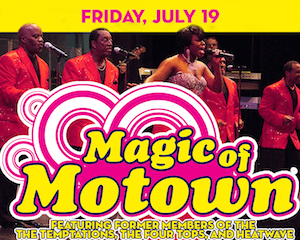 The Magic of Motown at The Suffolk Theater,