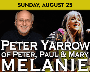 Peter Yarrow and Melanie perform at The Suffolk Theater