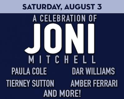 A Joni Mitchell Celebration at The Suffolk Theater,