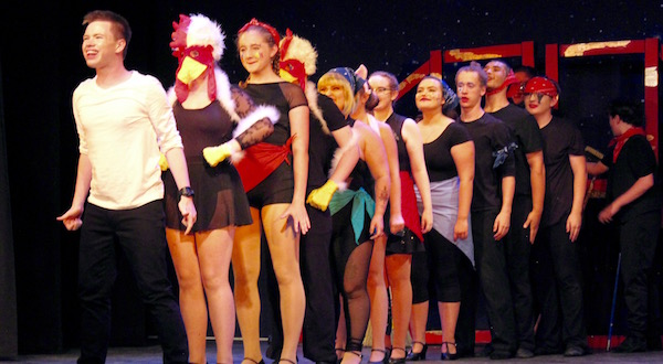 The cast of Pippin at the North Fork Community Theatre