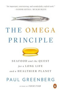 """Carl Safina and Paul Greenberg discuss """"Omega Principle: Seafood and the Quest for Long Life and a Healthier Planet"""" at Canio's Books"""