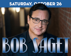 Comedian Bob Saget at The Suffolk Theater