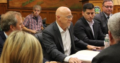 Chris Kent presented CAT's latest proposal to the Riverhead Town Board at its Oct. 17 work session.