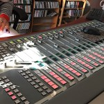The mixing board at WPPB in Southampton