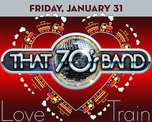 That 70s Band: Love Train at Suffolk Theater