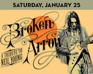 Broken Arrow: A Neil Young Tribute at Suffolk Theater