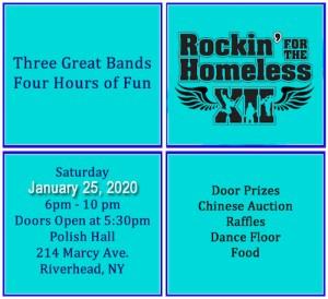 Rockin' for the Homeless at Riverhead Polish Hall