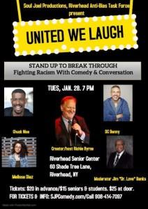 """""""United We Laugh"""" at Riverhead Senior Center"""