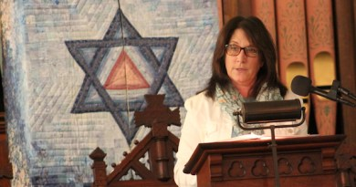 North Fork Reform Synagogue's community liaison, Rabbi Barbara Sheryll