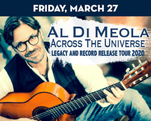 Guitarist Al DiMeola performs at The Suffolk Theater