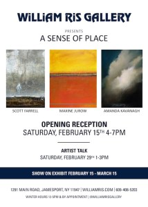 """Opening Reception for """"A Sense of Place"""" at William Ris Gallery"""