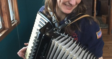 Beth with Accordion