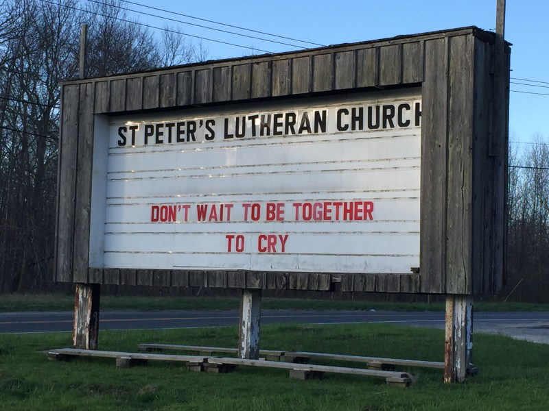 At St. Peter's, Greenport