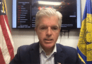 Suffolk County Executive Steve Bellone at his April 4 media briefing