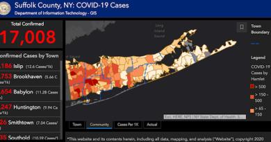 Suffolk County Covid-19 cases