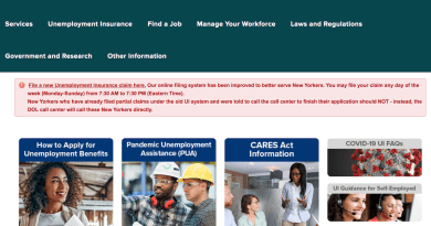 New York Department of Labor website