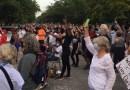 Vigil for George Floyd at Greenport's Clinton Memorial A.M.E. Zion Church