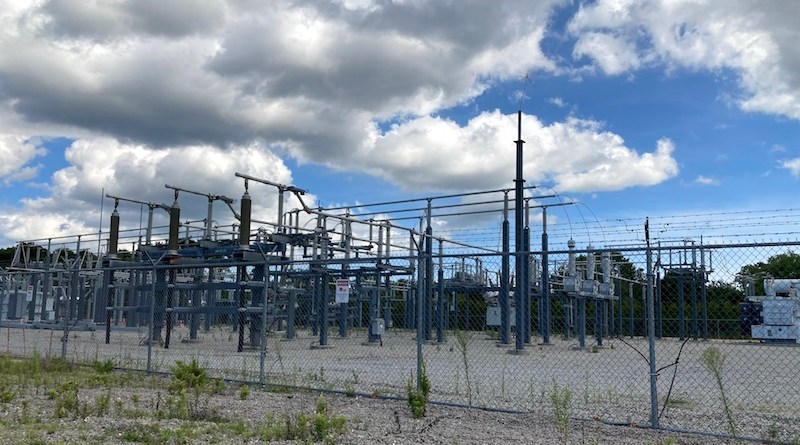 A new LIPA substation on Edwards Avenue in Calverton has proved a boon for solar farms, which have cropped up surrounding the substation, feeding power into the grid.