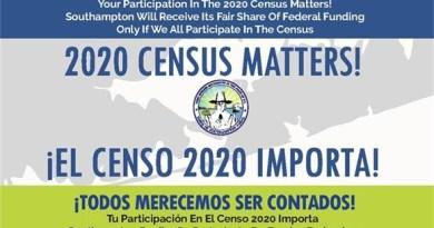 Southampton census flyer