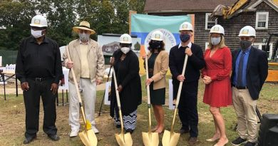 At the Oct. 24 groundbreaking