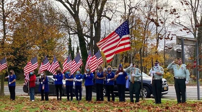 Riverhead American Legion on Veterans Day