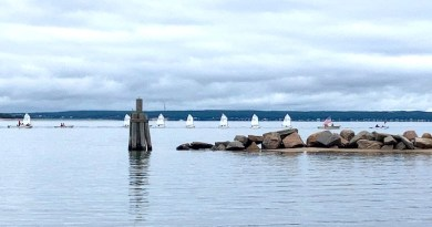 The Old Cove Armada arrives for the Fourth