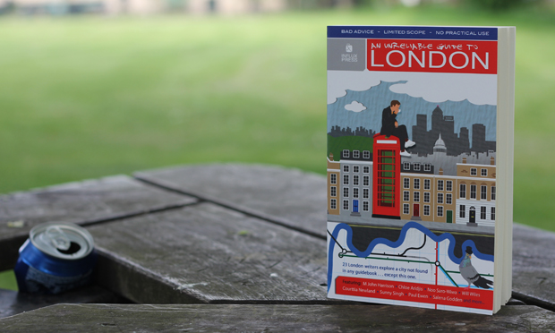 """Top-notch city writing"" - An Unreliable Guide to London. Photograph: Timothy Cooke"