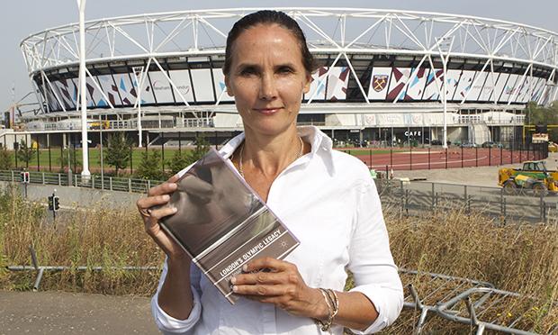Gillian Evans at Olympic Park 620