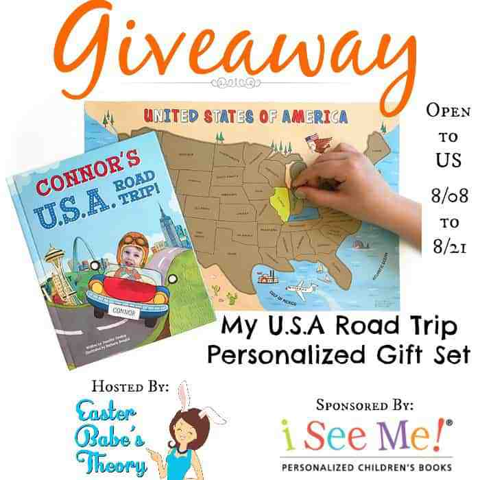 My USA Road Trip Personalized Gift Set  Blogger Opp ~ My USA Road Trip Personalized Gift Set