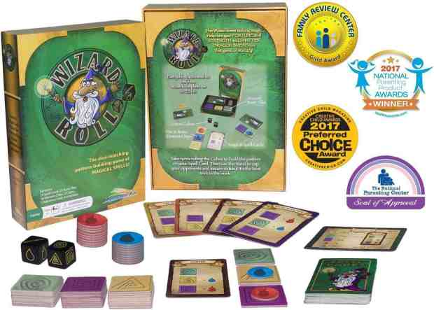 Wizard Roll RoosterFin Family Game Awards