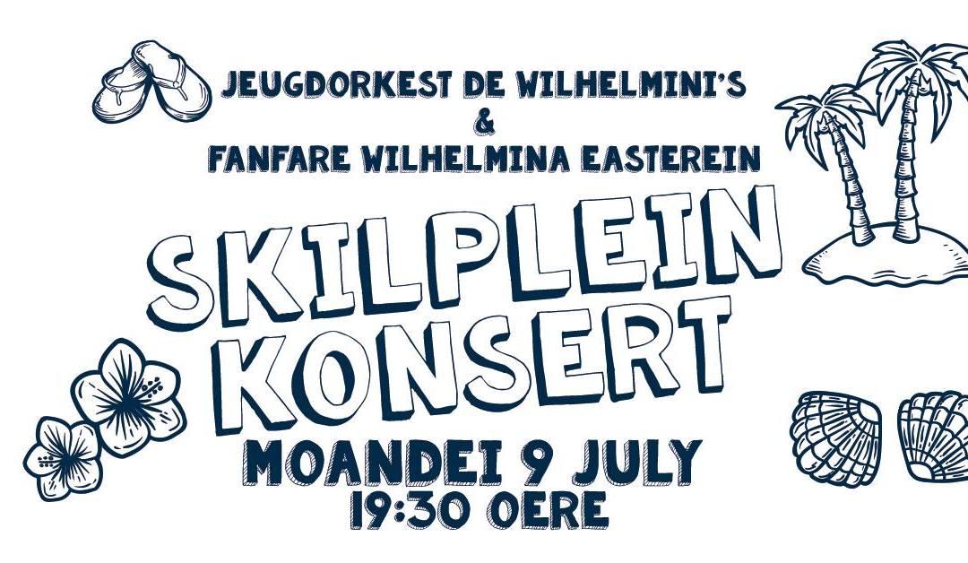 Skilpeinkonsert Wilhelmini's en Wilhelmina